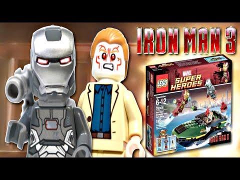 "LEGO Marvel : Iron Man 3 - ""Iron Man: Extremis Sea Port Battle"" Review"