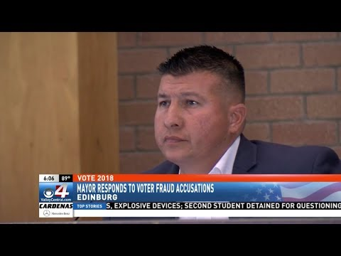 Edinburg Mayor Richard Molina being charged with Voter Fraud