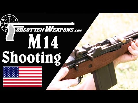 Shooting the M14:  Auto Really Uncontrollable?