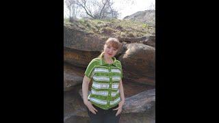 """Жакет """"SPRITE""""/  Спортивный стиль /Обзор #вязание #готовая работа - Видео от Вязание и Я"""