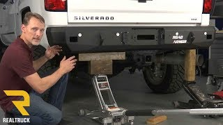How to Install Road Armor Stealth Rear Bumpers on a 2015-17 Chevy Silverado 2500