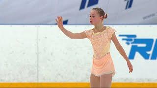 Мария Захарова Произвольная программа Девушки Кубок России по фигурному катанию 2020 21