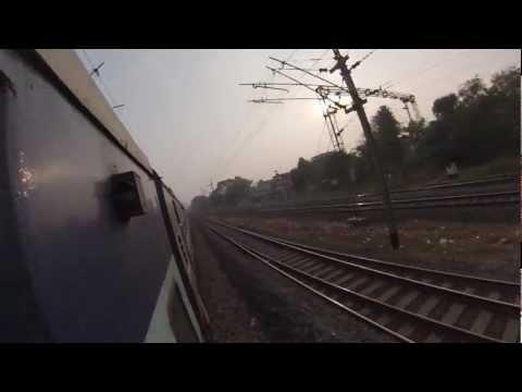 Travelling through India by train, Deoghar to Kolkata - GoPro
