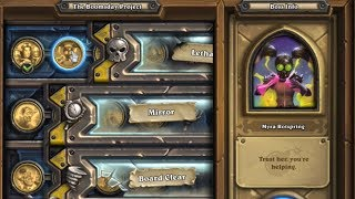 [Hearthstone] The Boomsday Project Solo Adventure. Lethal; Myra Rotspring
