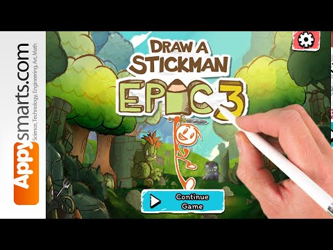 Draw A Stickman Epic 3 Doodle/puzzle Game Demo (iPad/iPhone/Android/PC) - Walkthrough