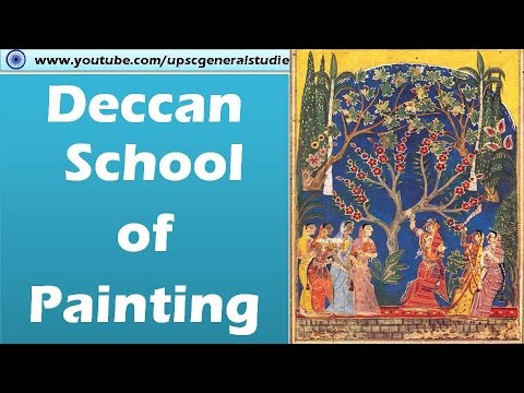 Deccan school of painting: Indian art and culture for UPSC IAS preparation