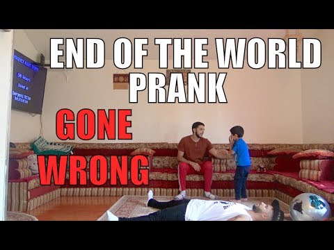 END OF THE WORLD PRANK ON 5 YEAR OLD (GONE WRONG)