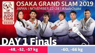 Judo Grand-Slam Osaka 2019: Day 1 - Finals