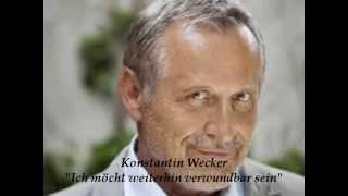 Konstantin Wecker - Ich möchte weiterhin verwundbar sein