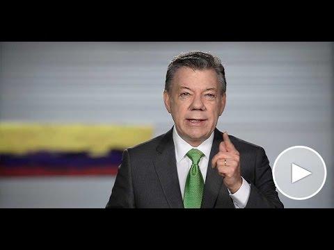 Alocución del Presidente Juan Manuel Santos sobre el diálogo por la unión y la reconciliación