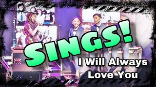 Angelica Hale Performs in Concert with TNT Boys - I Will Always Love You Cover