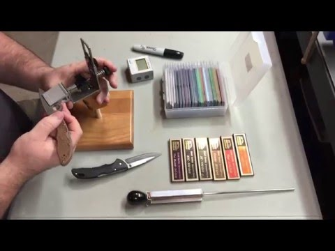 KME Sharpening System 101- Tips for Starting out Sharpening with the KME