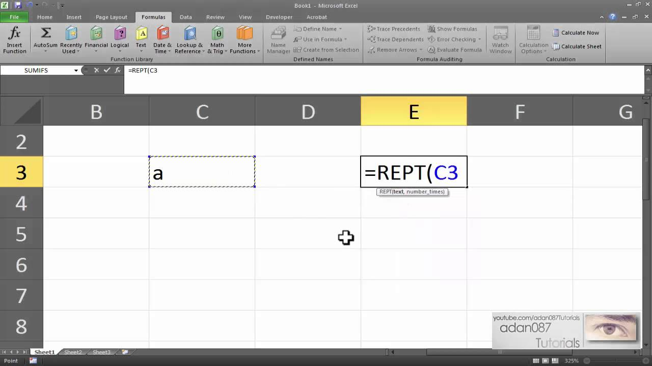 how to stop excel predicting text