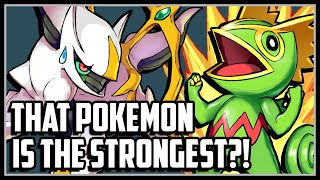 Top 10 Strongest Pokemon of All Time!