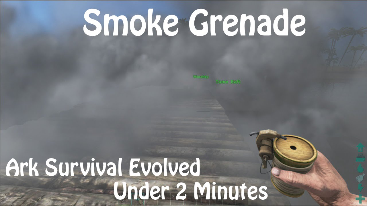 Smoke Grenade - Official ARK: Survival Evolved Wiki