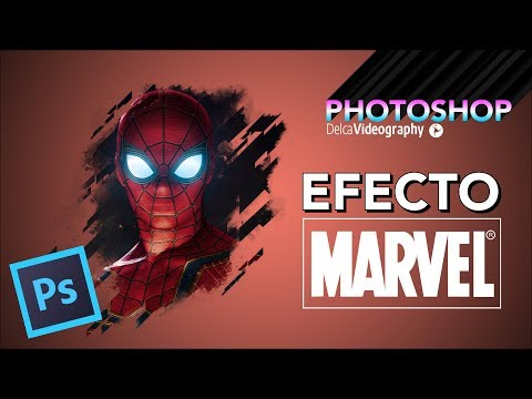 Cómo crear el Efecto MARVEL en Photoshop   DelcaVideography