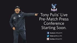 Tony Pulis' Pre-Manchester United Press Conference