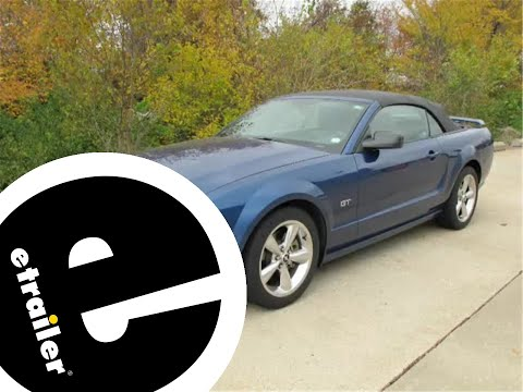 install trailer hitch 2006 ford mustang 24747 - etrailer