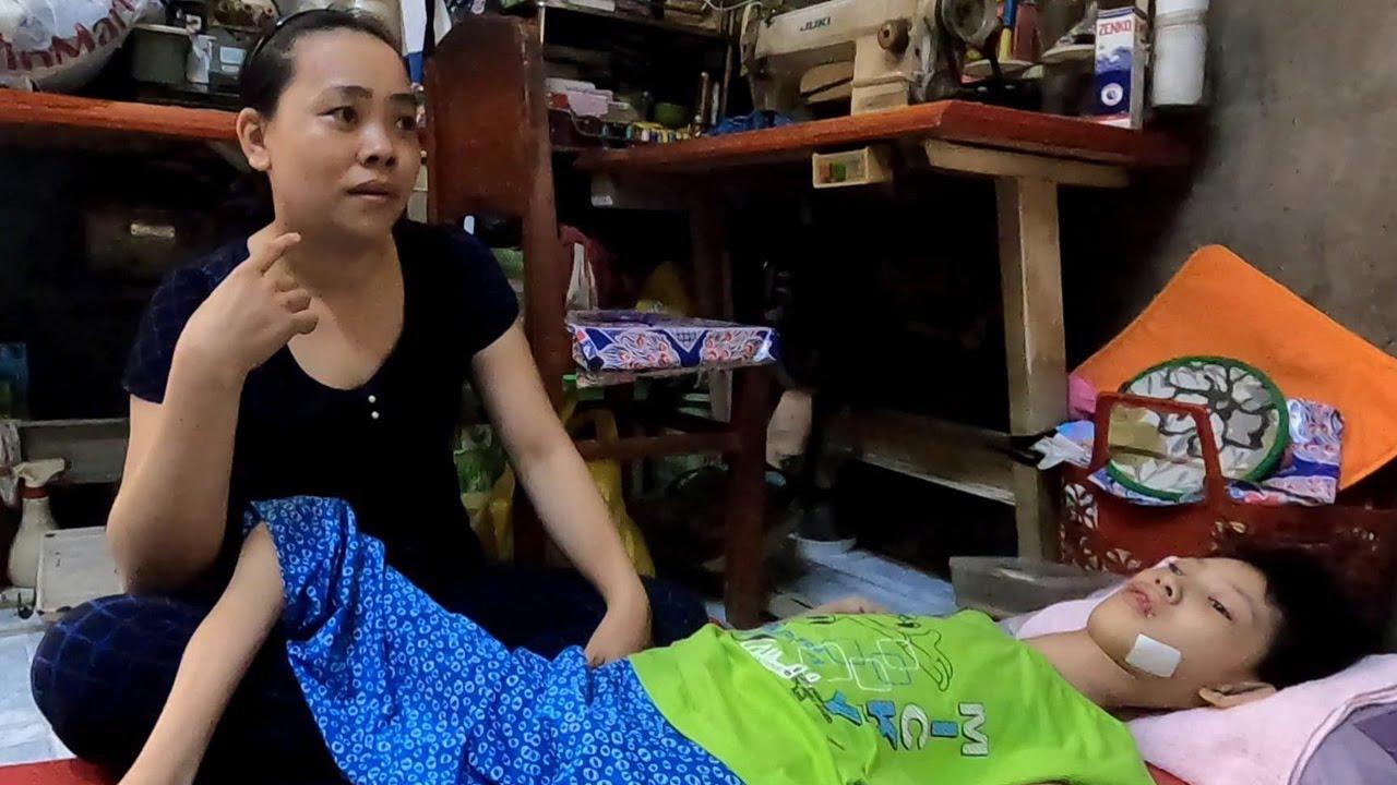 TIẾP SỨC CHO NGƯỜI MẸ ĐƠN THÂN Một Mình Chăm Lo Con Bệnh Mẹ Già | Nhịp Cầu Yêu Thương