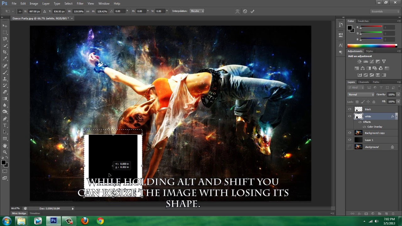 Adobe Photoshop CS6 How To Create A Collage Collage Effect