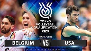 Belgium Vs USA | Highlights Men's OQT 2019