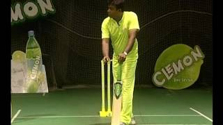 Taking the bat back and stepping to the ball sets the batsman up fo...