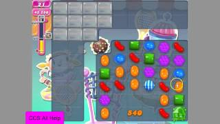 Candy Crush Saga Level 1218 NO BOOSTERS