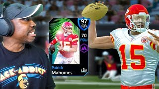 97 OVR SUPER BOWL PATRICK MAHOMES! Madden Mobile 20 Pack Opening Gameplay Ep. 18