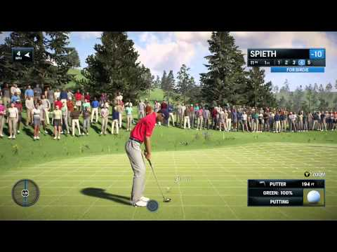 Rory McIlroy PGA Tour - Jordan Spieth at Lighthouse Pointe - Arcade Mode