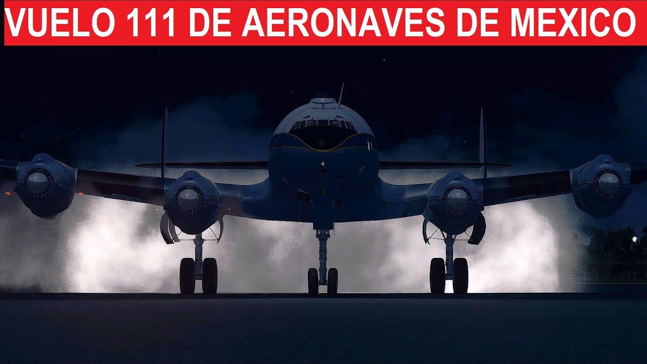 El avión que perdió el rumbo en Guadalajara - Aeroméxico 111