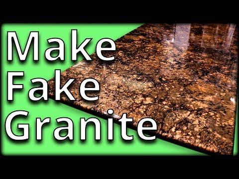 Learn To Mimic Granite With Epoxy | Stone Coat Countertops