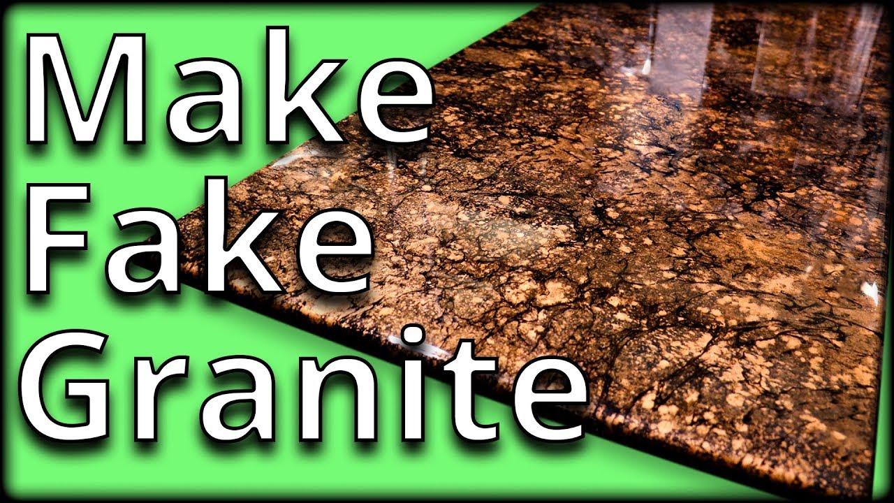 Learn to Mimic Granite with Epoxy | Stone Coat Countertops