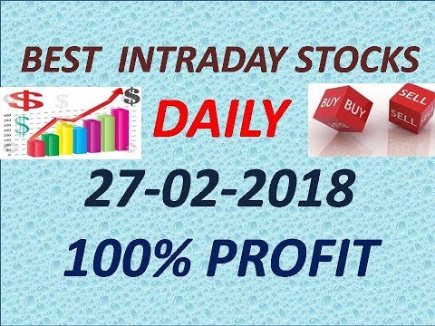 Day trading stocks 27-02-2018/Best intraday trading stocks/Best stocks to buy for intraday trading