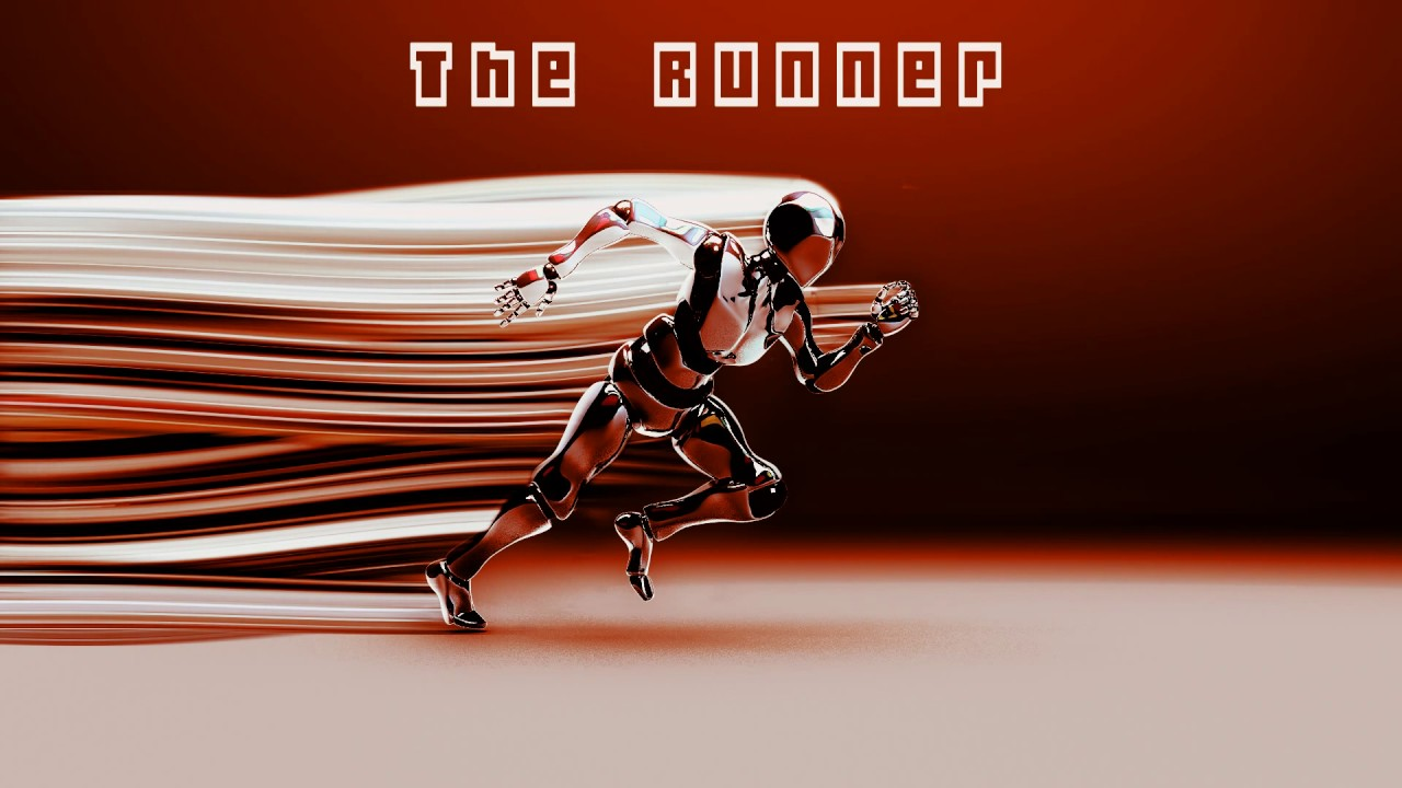 The Runner - Instrumental sci-fi Synth music  Royalty free music