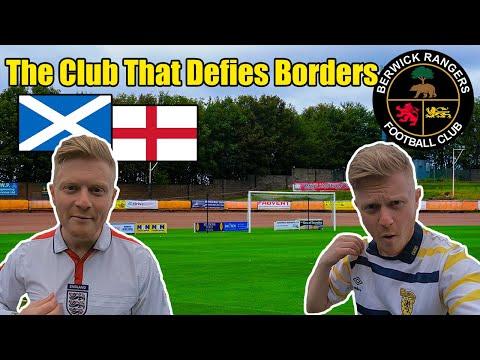 The English Football Team Who Play In Scotland! Berwick Rangers FC