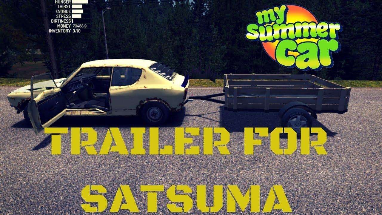 Trailer For Satsuma My Summer Car 18 Mod