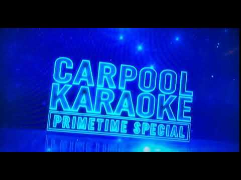 Carpool Karaoke Christina Aguilera Comercial