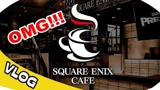 SQUARE ENIX Cafe - SUMO Restaurant - Japan Vlog