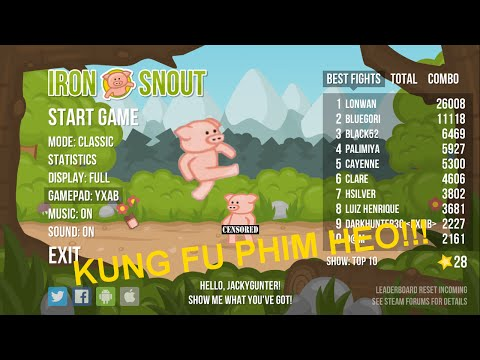 Iron Snout | KUNG FU PHIM HEO!!!