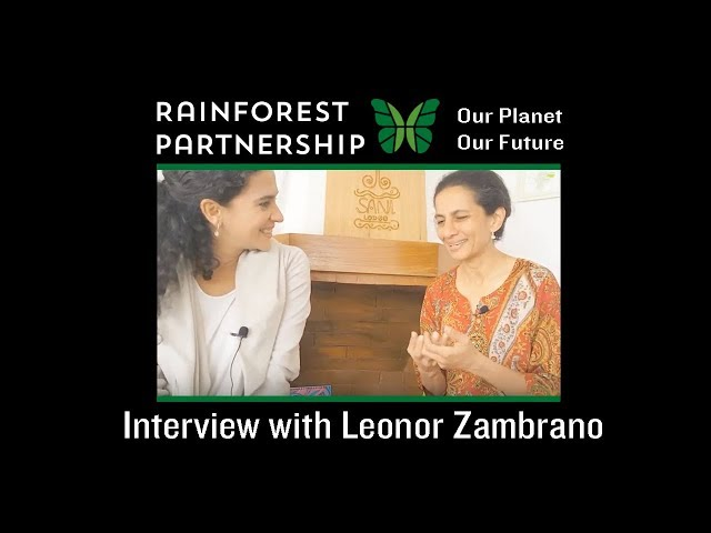 Our Planet. Our Future. Interview with Leonor Zambrano