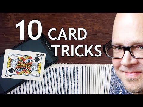 DO 10 SUPER EASY CARD TRICKS!