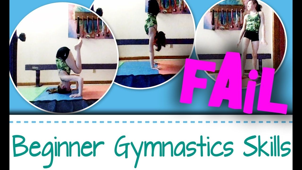 Got Skills?!? Beginner 101 Gymnast? Start to a Great Gymnast! (one oops, 😂)