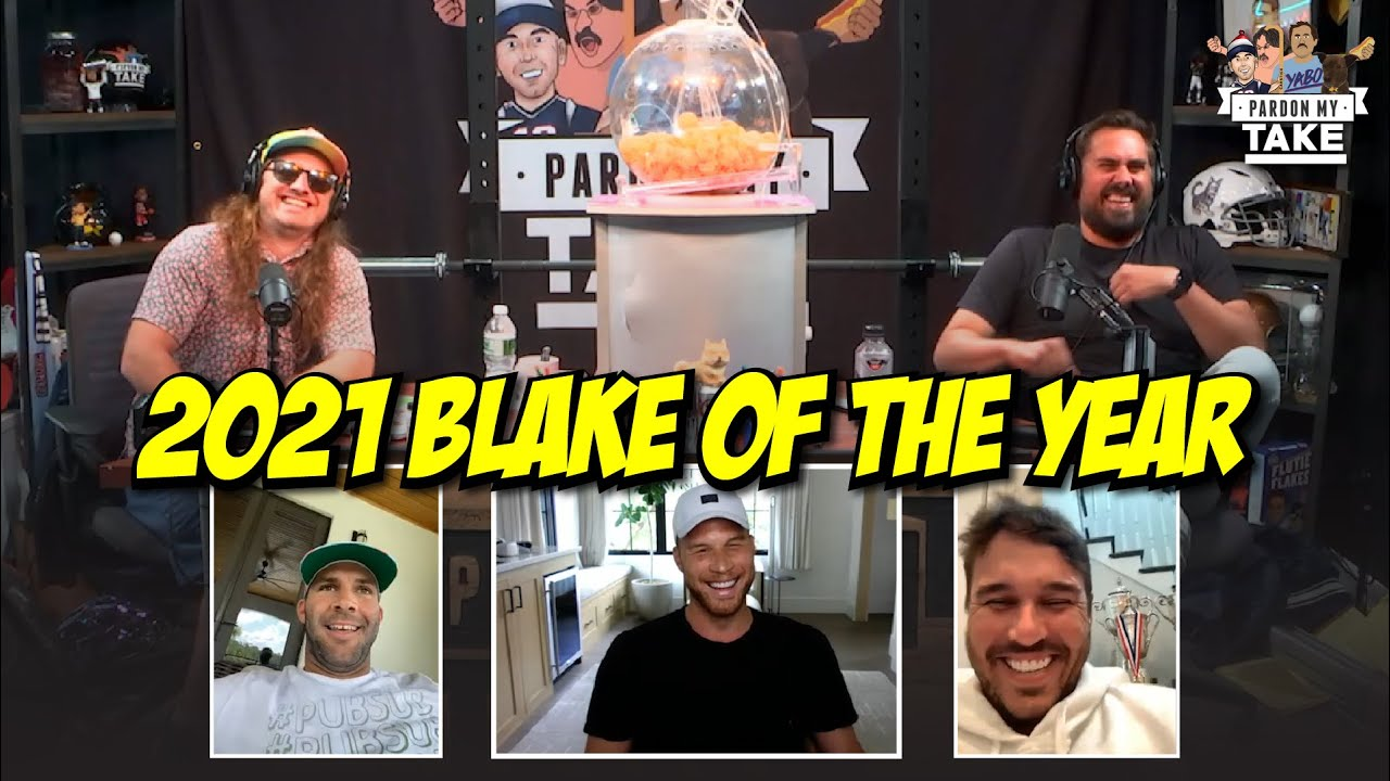 Blake Bortles, Blake Griffin & Brooks Koepka Compete for 2021 Blake of the Year