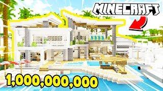NAJDROŻSZY DOM JAKI POWSTAŁ W MINECRAFT! *1,000,000,000 ZŁ*