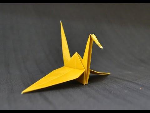 Origami: Tsuru - YouTube