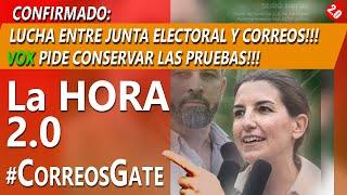 CONFIRMADO: JEC ABRONCA A CORREOS!! VOX PIDE CONSERVAR LOS VOTOS #PUCHERAZO