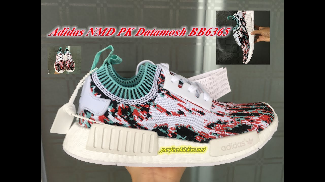 180376767 Adidas NMD PK Datamosh BB6365 Review - YouTube