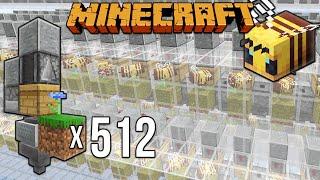 Minecraft 1.15 Bee Farm Lag Busting [Minecraft Myth Busting 125]