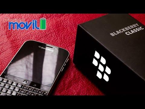 BlackBerry Classic - Unboxing en Español HD