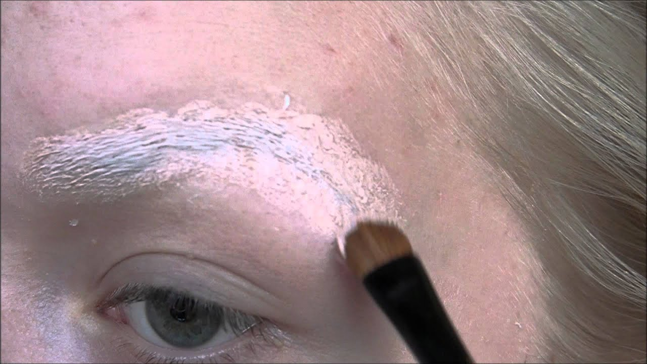 Augenbrauen überdecken Für Einen Halloween Look Youtube